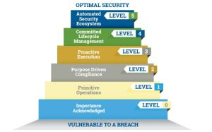Threat and vulnerability management maturity model